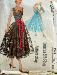 Prom Dresses: Vintage Prom Dress Patterns Free