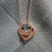 Rose Gold Ring: Rose Gold Ring Holder Necklace