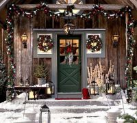 outdoor christmas decorating ideas | Christmas | Pinterest