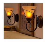 Battery operated wall sconces with 5 hour timer! | Battery ...