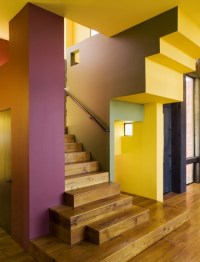 multi colored walls | Interiors | Pinterest