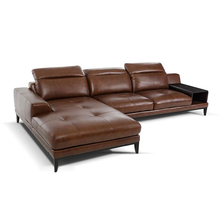 Truckee Leather Sofa & Chaise