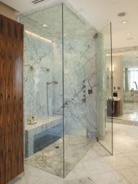 Curbless Shower Design, Steam shower | Bathe & Powder ...
