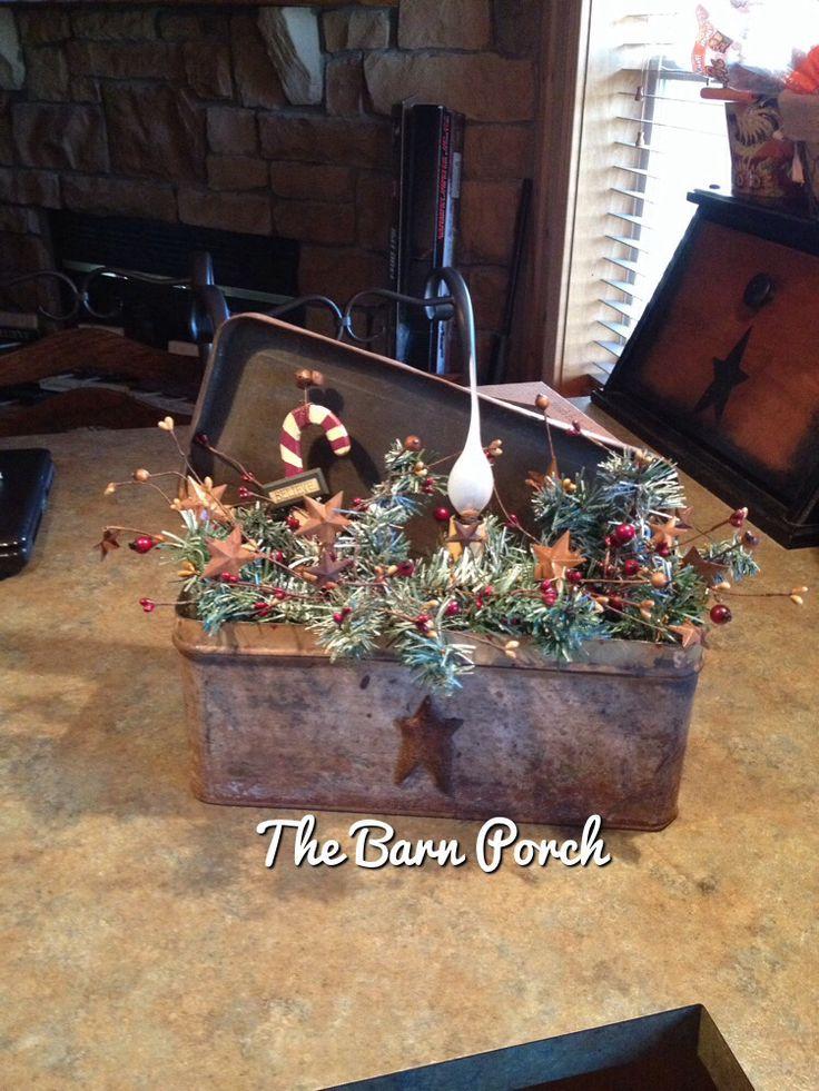 Primitive Christmas Decor ~ Interiors Design - primitive christmas decorations