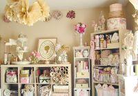 shabby-chic-craft-room | Scrapbooking/Crafting | Pinterest