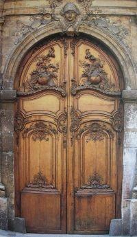 beautiful carved wooden double door   Doors open, doors ...