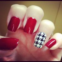 Pin by The Game Fan Zone on GAME DAY NAILS | Pinterest