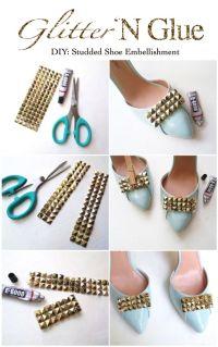 Shoe DIY Design | DIY clothes | Pinterest