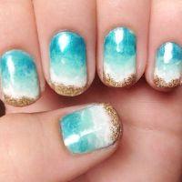 Ocean Nail Design | Beauty Salon | Pinterest