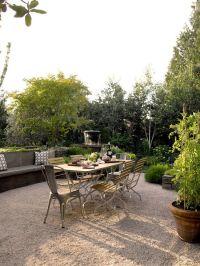 Pea Gravel Patio | architecture: terraces | Pinterest