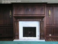 Wood Panel Fireplace   For the Home   Pinterest