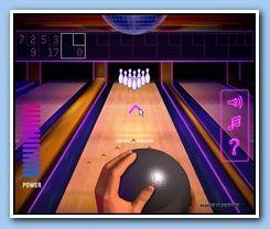 Disco Bowling Game