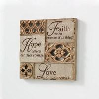faith hope love wall decor - DriverLayer Search Engine
