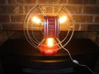 Vintage Fan Fire Alarm Pull Lamp   lamps plus   Pinterest