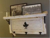 Cabinet Door to shelf | Crafts | Pinterest