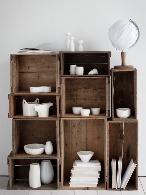 Knagglig Regal Crate Shelf | Simple? Ideas | Pinterest