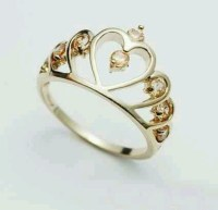 Princess crown ring | princess crowns | Pinterest