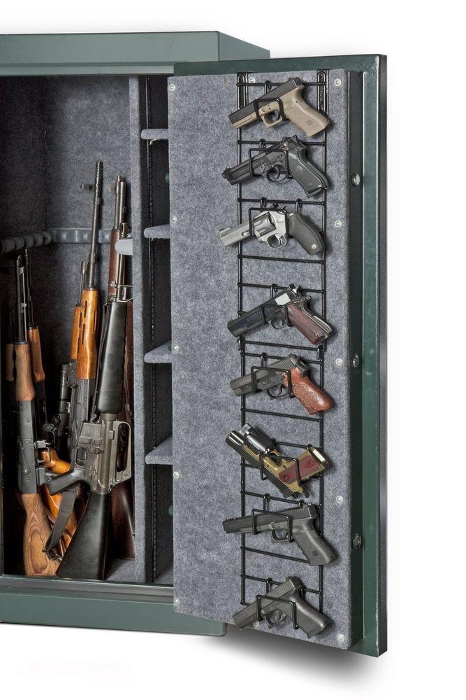 Gun Safe 8 Pistol Rack Narrow Full Door Gun Storage