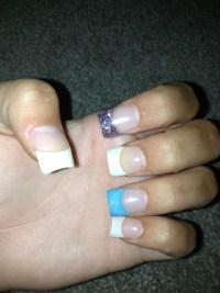 Simple cute plain nails. | acrylic nails | Pinterest
