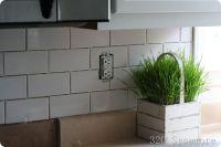 how to install a subway tile backsplash | Kitchen Design ...
