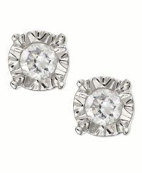 Diamond Earrings: Diamond Earrings Macy's Sale