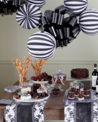 Wine and Cheese Party decor ideas. | Martha Celebrations ...
