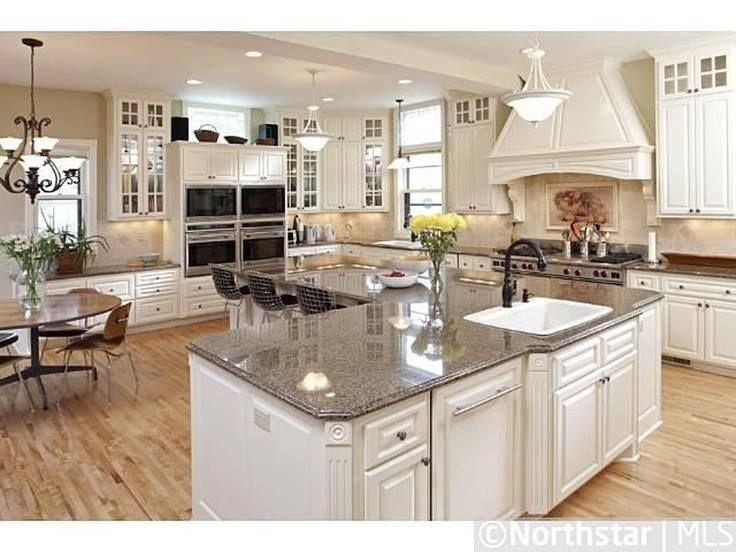 "L Shaped Island An ""l"" Shaped Kitchen Island. 
