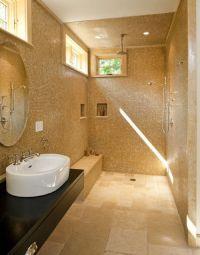 Open Shower For Small bathrooms   Bathroom Ideas   Pinterest
