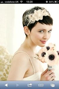 Wedding hair band for short hair   MY BEST FRIEND WEDDING ...