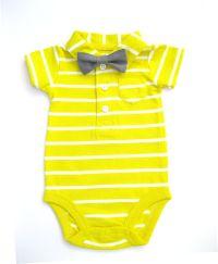 Bow tie onesie. Boy 1st birthday bow tie onesie. Boy baby ...