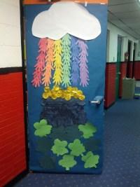 March classroom door | Preschool Theme -- March | Pinterest