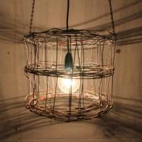 wire lamp shade | LIGHTS! | Pinterest