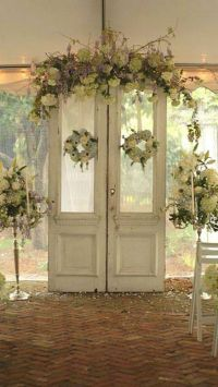 Wedding Doors | Old door Wedding decor...windows ...