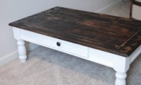 refinish coffee table | Craft | Pinterest