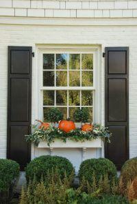 window boxes | Fall Inspiration | Pinterest