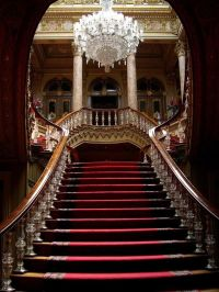 Grand Staircase | Baby in pink | Pinterest