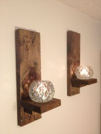 Wall Sconces Rustic (pair)