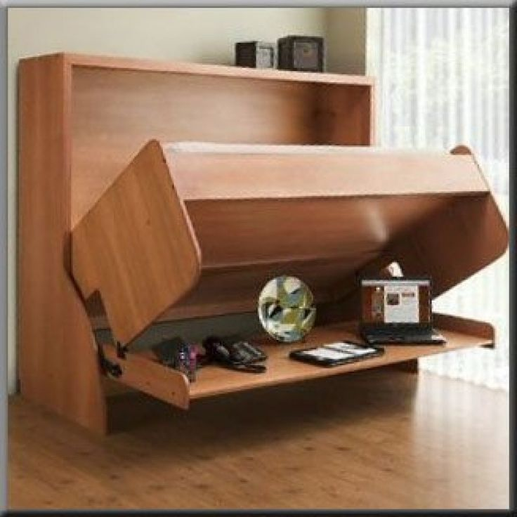 Murphy Bed Desk Murphy Bed/desk | Guest Room | Pinterest