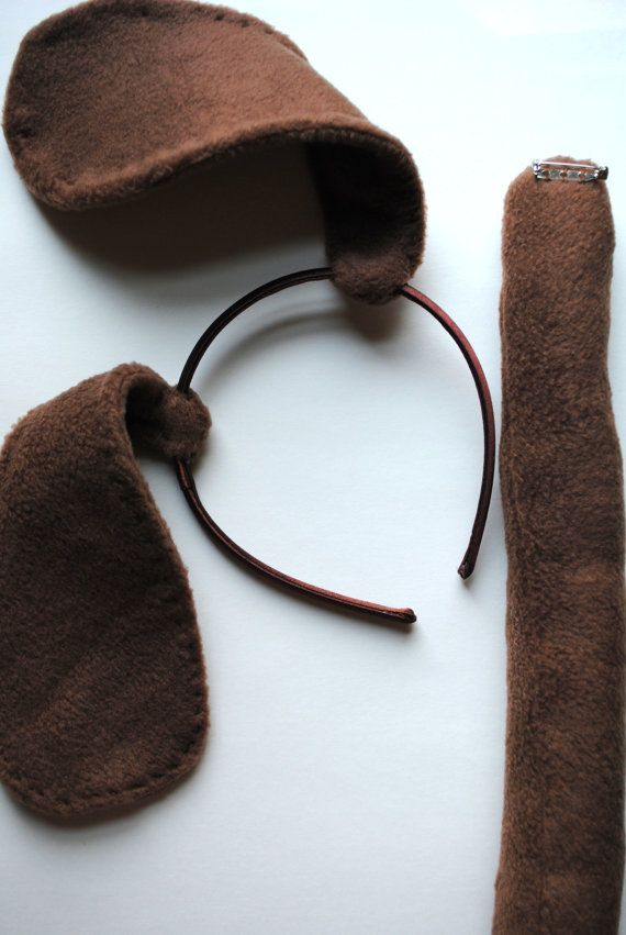 Dog ears and tail for goody bags