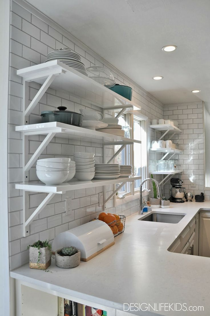 Ikea Open Shelving Open Kitchen Shelves From Ikea | Home Sweet Home Ideas And