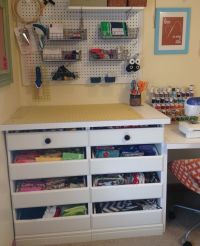 Pin by Melanie Terpstra on Sewing Storage/Craft Room ...