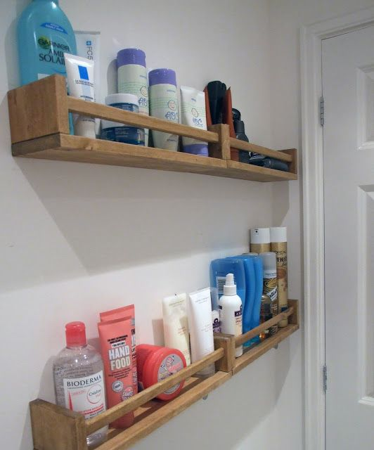 Ikea Hack Spice Racks In The Bathroom Rangements