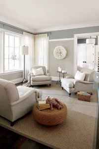 living room with neutral color palette | For the Home ...