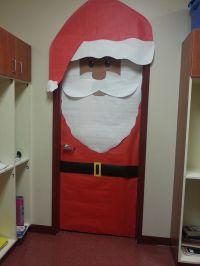 santa claus door decoration - 28 images - santa classroom ...