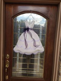 Bridal Shower Door Decoration | Bridal shower | Pinterest