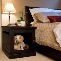 Night stand dog bed combo | ideas | Pinterest