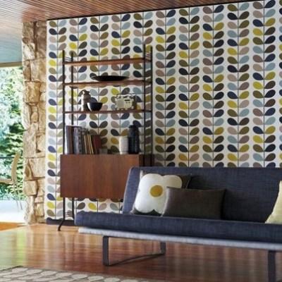 mid century wallpaper 2017 - Grasscloth Wallpaper