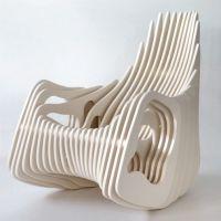 unique plywood rocking chair | Furniture | Pinterest