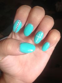 Oval Nails | Nail designs | Pinterest