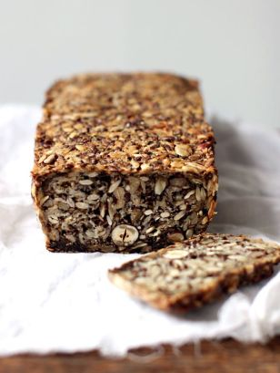 Seeded Wheat-Free Oat Bread — a healthier alternative for toast.
